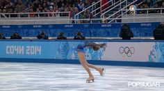 Julia Lipnitskaia's lay back spin