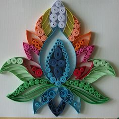 Paper Quilling Cards, Paper Quilling Jewelry, Paper Quilling Patterns, Origami And Quilling, Quilled Paper Art, Quilling Paper Craft, Paper Crafts Origami, Quilling Flowers Tutorial, Quiling Paper
