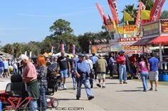 The Carlisle Events Florida Winter Autofest brings together a myriad of automotive events ranging from an auction and a car corral to a car show and a swap meet. There were also plenty of food vendors on hand.