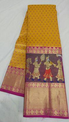 @Rs.23000 Kanjivaram Sarees, Kanchipuram Saree, Ikkat Saree, Ethnic Sarees, Indian Sarees, Pure Silk Sarees, Cotton Saree, Saree Trends, Indian Designer Outfits