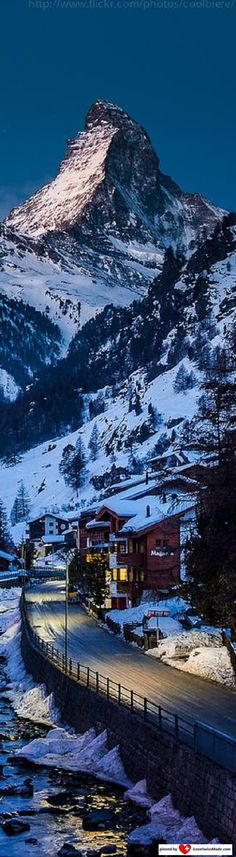 Matterhorn. Repin by iLoveSwissMade.com, photo adapted to Pinterest