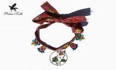 Slovak Jewellery Designer - Petra Toth motives from folk embroidery Diy Jewelry, Jewelry Design, Jewellery, Folk Embroidery, Petra, Headbands, How To Make, Inspiration, Accessories
