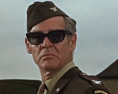 Ryan as the tight ass Colonel In THE DIRTY DOZEN (1967) Robert Ryan, Classic Hollywood, Dancers, Comedians, Wayfarer, Masks, Ray Bans, Tights, Mens Sunglasses