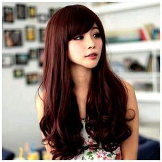 Tendencias de color marrón pelo rojo violeta (Brown Color de cabello, Violeta Marrón Cabello)