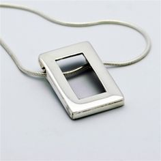Trans Europe pendant by philippeplanas.com | Handcrafted in silver, this pendant will look astonishing with anything, from your evening gown to your casual outfits.
