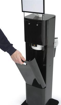 Purell Hand Sanitizer Dispenser Floor Standing Black 119093
