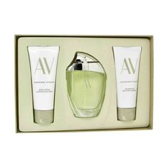 Adrienne Vittadini AV by - Gift Set -- 3 oz Eau De Parfum Spray 3.3 Body Lotion 3.3 oz Shower Gel by Adrienne Vittadini. $24.82. It is recommended for daytime wear. Launched by the design house of adrienne vittadini in 1994, av is classified as a refreshing, flowery fragrance. This feminine scent possesses a blend of oakmoss, blooming fresh cut flowers as well as watery notes of the fresh cool sea and the pure ocean air. Launched by the design house of Adrienne Vittadini in...