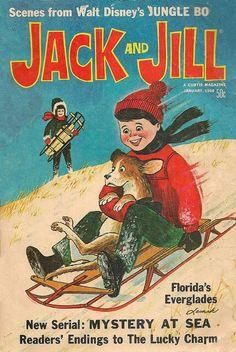 Jack and Jill vol 30 No 3 January 1968 Jungle Book Everglades Maya Skipper FN/VF Christmas Comics, Jack And Jill, Christmas Illustration, Art Music, Walt Disney, Maya, Mystery, Florida Everglades, January