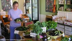 Bringing local foods to Main Streets. Via National Trust for Historic Preservation.