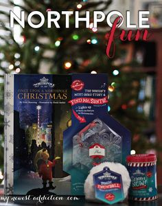 Northpole Fun with Hallmark #NorthpoleFun #shop - http://www.mynewestaddiction.com/2014/11/northpole-fun-with-hallmark.html