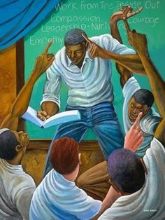 Ernie Barnes Each One, Teach One