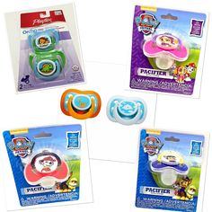 Pacifiers and Soothers Sets for Infant Baby Boys Girls #PlaytexUnbranded