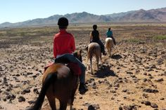 Horseback riding with Hideout Ranch, one of Equitrekking's Top 20 Ranches.