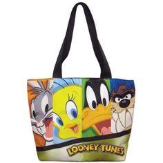 Beware Crazy Shark Lady Regular Tote Bag Funny Animal Shoulder