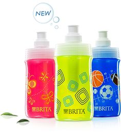 New Brita Bottles for Kids - interesting idea, need to read more about how useful it actually it is