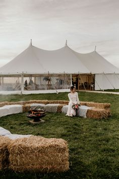 Ethical outdoor wedding sailcloth tent - Ethical and Sustainable Marquee Wedding Style That Respects The Environment. Images by Elena Popa # outdoor wedding tent Ethical and Sustainable Marquee Wedding Style That Respects The Environment Wedding Ceremony Ideas, Outdoor Wedding Decorations, Outdoor Weddings, Backyard Tent Wedding, Tent Wedding Receptions, Wedding Ideas For Outside, Outdoor Wedding Seating, Wedding Hay Bales, Outdoor Wedding Ceremonies