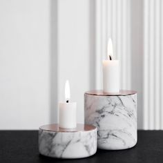 The Chunk of Marble candleholder designed by Andreas Engesvik for MENU