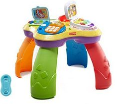 """Fisher-Price Laugh & Learn Puppy Friends Learning Table - Fisher-Price - Toys""""R""""Us Toddler Toys, Baby Toys, Toddler Activities, Best Friend Gifts, Best Gifts, 1 Year Old Girl, Toys For 1 Year Old, Fisher Price Toys, Baby Learning"""