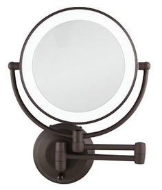 8 best make up mirror wall mounted battery images on pinterest zadro 1x 10x cordless led lighted wall mount makeup mirror ledw810 bronze new aloadofball Choice Image