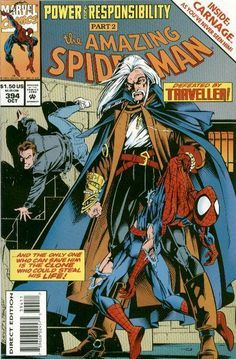 The cover to Amazing Spider-Man #394 (1994), art by Mark Bagley & Larry Mahlstedt