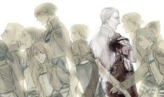 Isabel and Farlan, Levi's Squad, Mike and now even one of his trio best friend Erwin. I sure hope not even Hanji sensei would kill off the list. If so Levi old friends are no more. And that's really really sad more than pitiful for Levi. Like he is destined to be alone and have all his friends dying on him.