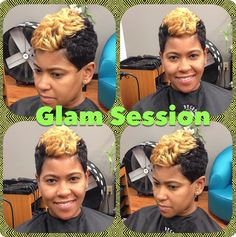 Get a pop of color while you have the ultimate Glam  Session you have been waiting to experience!