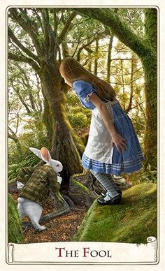 Alice Tarot, Baba Studios  (Release imminent - 9/14!)  If you love Tarot, visit me at www.WhiteRabbitTarot.com-545