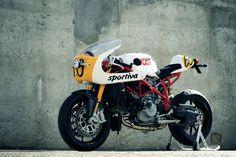 Radical Ducati 7 and a half Sportiva left side profile still