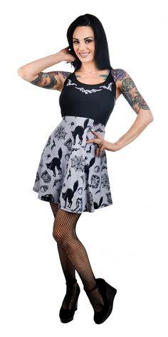 Vintage Graveyard Ginger Dress 1