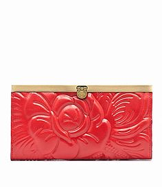 Patricia Nash Rose Tooled Cauchy Wallet #Dillards