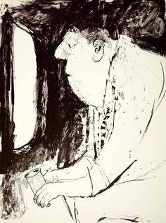 1960 Print Erich Sokol Man Television Caricature Beer American Humorous Art XDF7   eBay