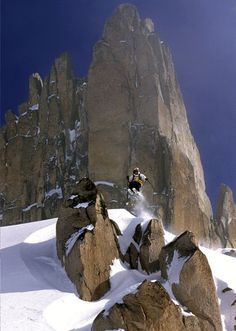Argentina& Patagonia region offers beginner-to-expert downhill terrain; open bowl, glacier and gladed tree skiing; and snowboarding. (From National Geographic Traveler. Ski Freeride, In Patagonia, Argentine, Freestyle, Winter Fun, Summer Travel, Belle Photo, National Geographic, South America