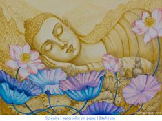 watercolor-buddha-meditation-mountains-yoga-artwork-contemporary-painting-yuliyaglavnaya-bespoke-art.jpg (700×522)