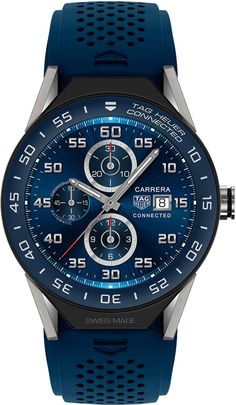 Tag Heuer Connected Modular 45 mm Blue Mens Watch | Best Price | www.majordor.com | @majordor | #majordor #tagheuerwatches #luxurywatches