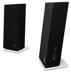 This desktop speaker… Audiophile, Desktop Speakers, Audio Design, Mens Gear, The Brethren, Speaker System, Gadget Gifts, Technology Gadgets, Gift Ideas
