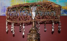 grystal barbed wire chandileer