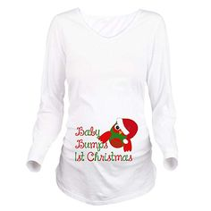 cf327c7c2be60 Look at this CafePress White Christmas' Ruched Maternity Long-Sleeve Tee on  today!