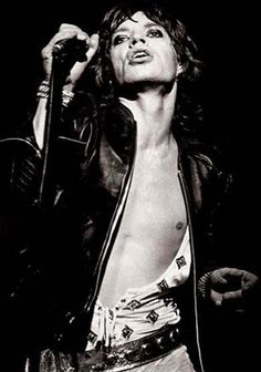 Mick Jagger | rolling stones | hotness | rock star | rock and roll | singer | performer | dancing | swag |