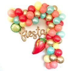 Fiesta Theme Party Decorations Fiesta Balloon Garland Cinco | Etsy