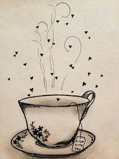 New party poster illustration tea time 59 Ideas Tee Kunst, Decoupage, Tea Quotes, Cuppa Tea, My Cup Of Tea, Vintage Diy, Coffee Art, Tea Time, Tea Cups