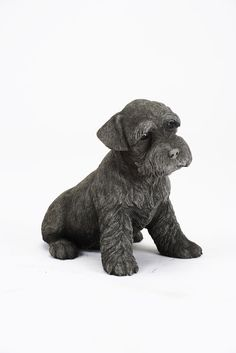 Oswaldtwistle Mills | Oakley Stone Animals - Large Schnauzer