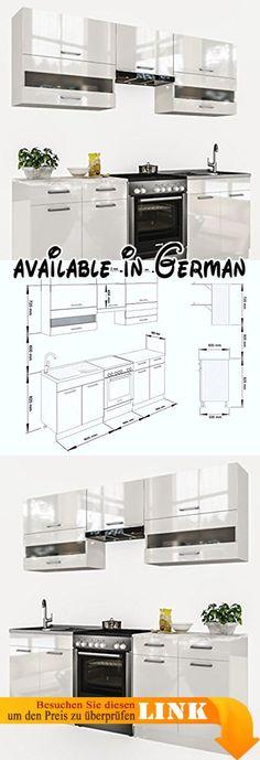 B018W5QQSE  respekta Mini Küche Singleküche 130 cm inkl - küchenzeile 220 cm mit elektrogeräten