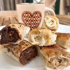 """""""Mi piace"""": 1,418, commenti: 105 - Alessandra - Ricette&Ghisa (@ricette_ghisa) su Instagram: """"🥐SACCOTTINI FILLO RIPIENI🥐 Se anche per voi siete del #teaminzuppo e la mattina volete…"""" Muffin, Breakfast, Instagram, Food, Morning Coffee, Muffins, Meals, Cupcakes, Yemek"""