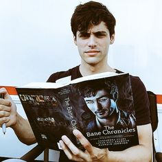 MAYBE READING MALEC FIRST DATE!!!<<nope. The Course of True Love and First Dates is further the penultimate story. I'd make a guess and say either the Rise of Hotel DuMort, Saving Raphael Santiago or The Fall of the Hotel DuMort judging by the middle ground of those three that correspond with how far Matt is in the book...