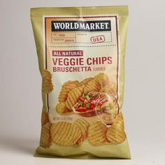 World Market® Bruschetta Veggie Chips