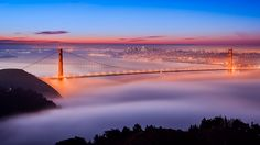 Fog at the Gate by Joe Azure, via Flickr