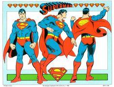 Superman by José Luis García-López (1982 DC Comics Style Guide)