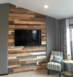 View photos of recent reclaimed wood paneling projects in the Fargo Moorhead area in addition to locations across the US. Reclaimed Wood Paneling, Reclaimed Wood Accent Wall, Reclaimed Wood Projects, Reclaimed Wood Furniture, Reclaimed Barn Wood, Plumbing Pipe Furniture, Home Remodeling, Furniture Design, Wood Walls