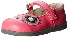 See Kai Run Stacy Mary Jane (Infant/Toddler),Hot Pink,4 M…