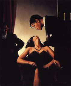 Game Of Power - Jack Vettriano